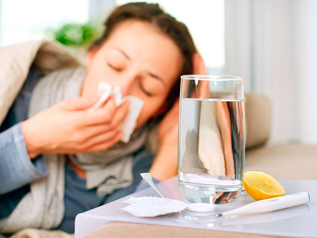Народные методы лечения насморка