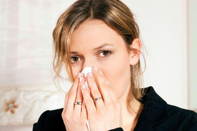 Желтые выделения из носа