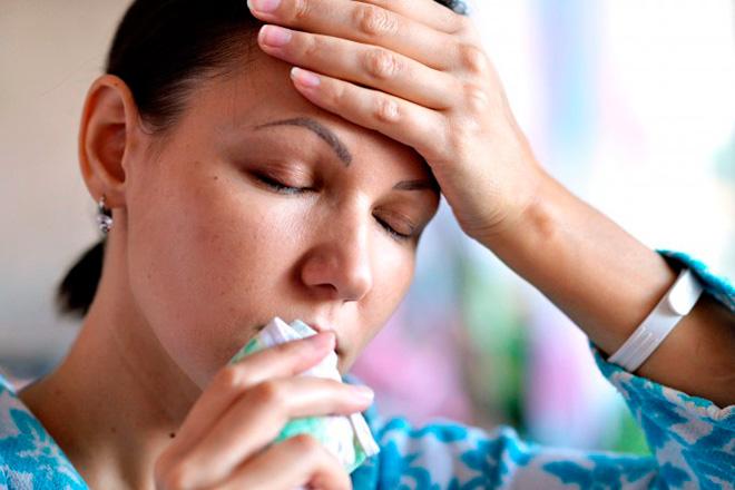 Насморк при простуде