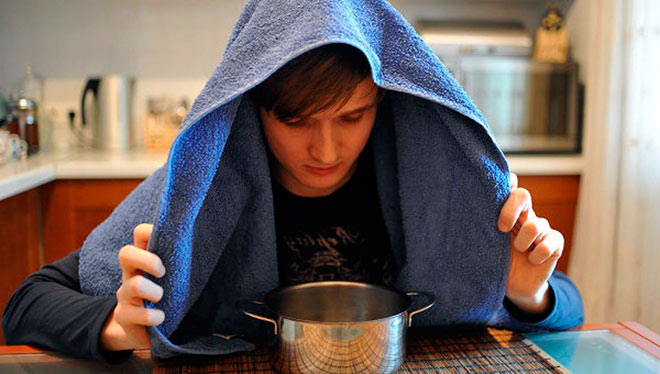 промывание носа солевым раствором