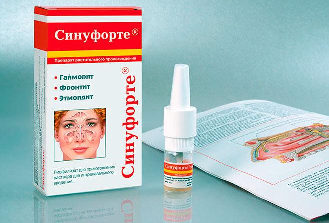 применение лекарственных средств при гайморите