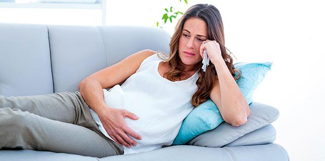 недомогание у беременной девушки