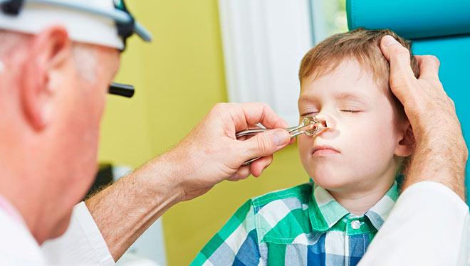 диагностика носовой перегородки у ребенка