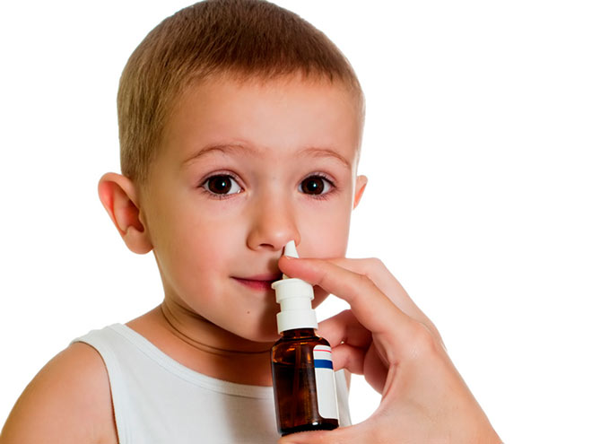 Спреи и капли в нос для детей