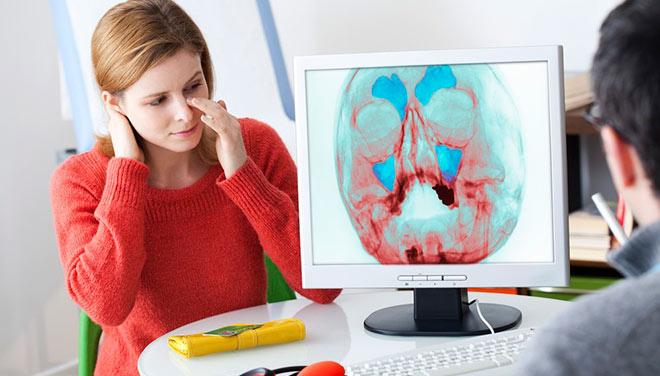 диагностика носовой перегородки