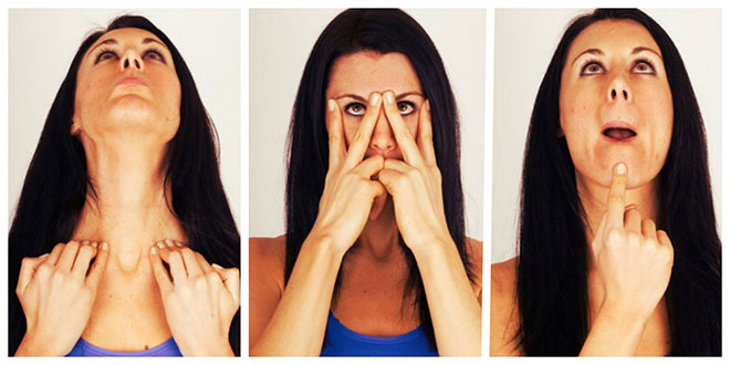 Фейсбилдинг - комплекс упражнений для носа