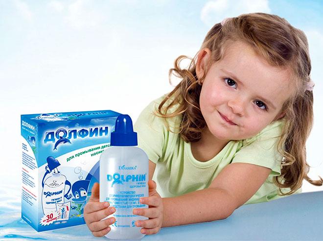 Полоскание при насморке у ребнка - эффективный метод отчистить пазухи носа